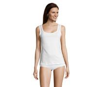 Unterhemd, Jersey, Weiß