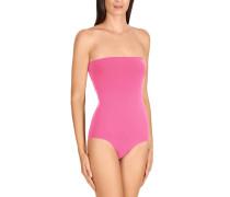 """Badeanzug """"Forming Swim Body Bandeau"""", uni, figurformend, Rosa"""
