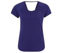 T-Shirt, Mesh, kühlend, für Damen, Blau