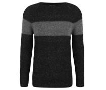 Pullover, Strick, Woll-Anteil, Blockstreifen