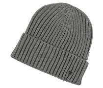 Mütze, Woll-Anteil, Strick, Umschlag