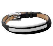 "Wickel-Armband, ""Elin"", Leder, schwarz, SKJ0857040"