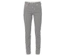 """Jeans """"Antonia"""", Skinny, mittlere Leibhöhe, gestreift"""