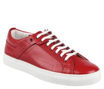 "Sneaker low ""Corynna-VS"", Gittermuster, Lack-Optik, Rot"