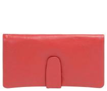 Geldbörse, langformat, Leder-Optik, Umschlag, Pink