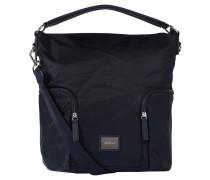 """Handtasche """"Aurum"""", Nylon, Tragehenkel, Blau"""
