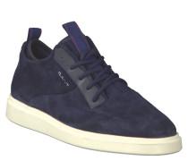 """Sneaker """"Beacon"""", Schnürung, Leder, doppelter Schaftrand, Blau"""