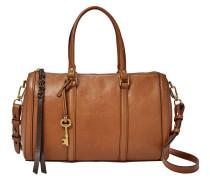 Handtasche, Umhängeriemen, Braun