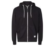 Sweatshirt-Jacke mit Kapuze