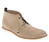 Desert-Boots, Veloursleder, uni