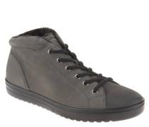 Sneaker, Leder, Schnürung, Fütterung, Grau