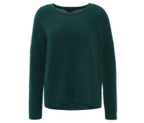 Pullover, uni, Woll-Mohair-Mischung