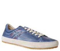"""Sneaker """"Vince"""", Leder, Flaggen-Print"""