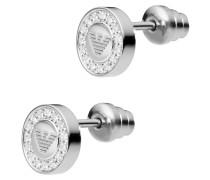 Ohrstecker rund Silber mit Zirkonia EG3053040