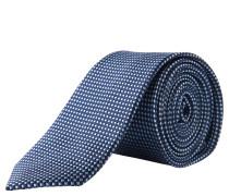 s.Oliver PREMIUM Krawatte, reine Seide, gemustert