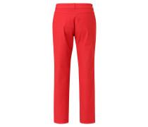 "Jeans ""Tina"", gerader Schnitt, Gewebestruktur, Rot"