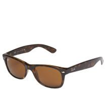 "Sonnenbrille ""RB 2132 New Wayfarer"", light-havana- braun, Retro-Style"
