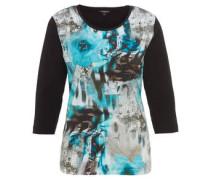 3/4-Arm-Shirt, Mustermix, Pailletten, Baumwolle