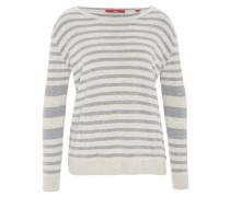 Pullover, gestreift, seitliche Knopf-Details