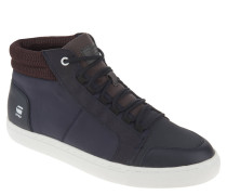 Sneaker, Materialmix, Marken-Logo, Blau
