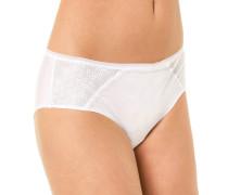 "Panty ""Révèle Moi"", Spitze, Tüll, Weiß"