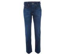 "Jeans ""Clark"", Straight Fit, Waschung, Blau"