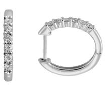 Brillant Creolen Platin 950 mit Diamant