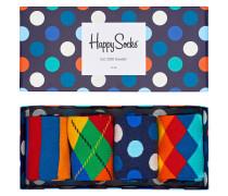 Socken, 4-er Pack, Geschenkbox