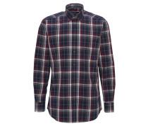 Hemd, Karo-Muster, Baumwolle, Rot