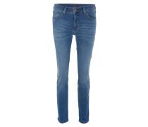 "Jeans ""Patti Girlfriend"", Regular Fit, Stretch, Blau"