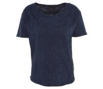 T-Shirt, Jeans-Optik, Rundhalsausschnitt, Baumwolle