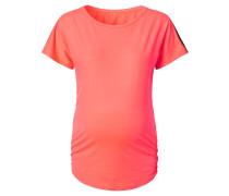 "Umstands-Sportshirt ""Feline"", Mesh-Details, Orange"