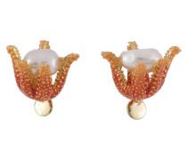Ohrringe, AFAT105T/1, Seestern, Perlen