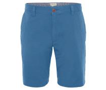 "Bermuda ""Droit"", Regular Fit, Baumwoll-Stretch, Blau"
