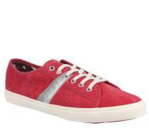 """Sneaker """"Beaker"""", Canvas, Rot"""