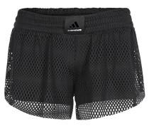 Shorts, 2-in-1, climalite, für Damen, Schwarz