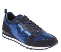 Sneaker, Pailletten, Profilsohle