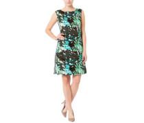 Kleid, florales Design, A-Linie