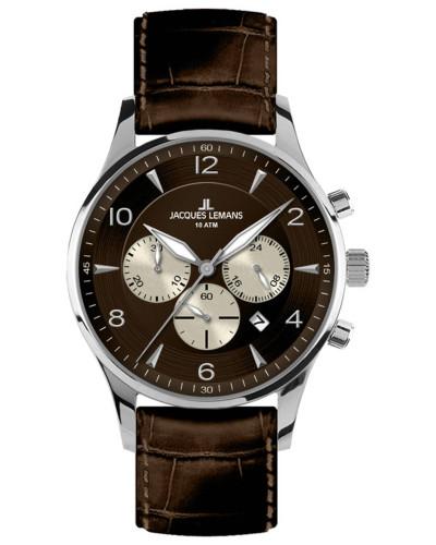 Classic Herrenuhr Chronograph London 1-1654D