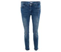 """Jeans """"Sara"""", Slim Fit, Statement-Stickerei, Waschung"""
