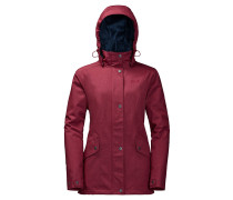 "Outdoorjacke ""Park Avenue"", wasserdicht, für Damen, Rot"