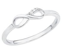 Ring mit Infinity 2017248 Zirkonia und  925