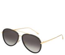 Sonnenbrille, Farbverlauf, für Damen