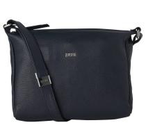 Nola 2, blue, ladies' handbag grained, Blau