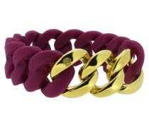 "Armband ""Original"" 107776 Edelstahl aubergine gold"