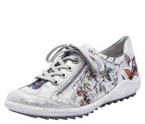 Sneaker, florales Design, Reißverschluss