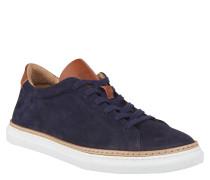 "Sneaker ""PAULARO"", zweifarbig, Leder, Blau"