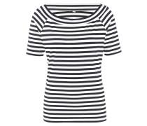 T-Shirt, Streifenmuster, elastisch