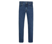 "Jeans-Hose ""Freddy"", Straight Fit, Stretch-Anteil, Blau"