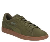 "Sneaker "" Smash v2"", Wildleder, Retro-Look"